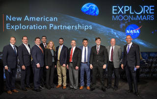 Nine U.S. companies are eligible to bid on NASA delivery services to the lunar surface through Commercial Lunar Payload Services