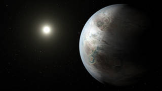 Kepler-452 in space