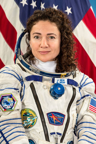 NASA astronaut and Expedition 61-62 Flight Engineer Jessica Meir
