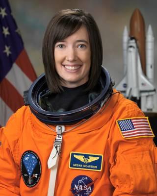 Astronaut K. Megan McArthur, STS 125 mission specialist, NASA photo (13 December 2007) 5052047750_ff5913c168_o.jpg