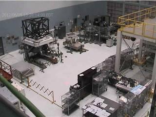 Webbcam image of JWST