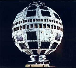 Telstar 1, NASA photoSource: NASA History,