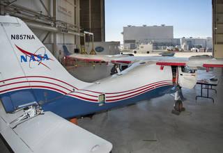 Los ingenieros de la NASA sometieron al X-57 Maxwell, el primer avión X totalmente eléctrico de la NASA, a sus pruebas iniciales de telemetría en Armstrong de la NASA.