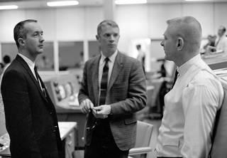 Gene Kranz, James McDivitt and Russell Schweickart