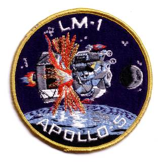 Apollo 5 LM-1 mission patch