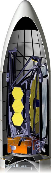 Webb si nascose in un razzo Ariane V per il lancio