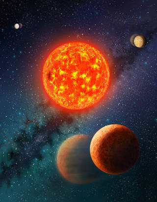 Mars-size exoplanet gets a mass