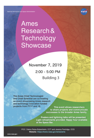 Ames Research and Technology Showcase (ARTS) November 7