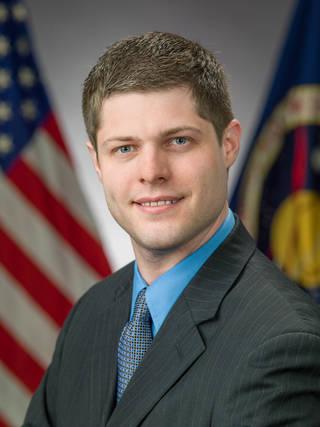 Brandon Lloyd, part of NASA's flight director class of 2021