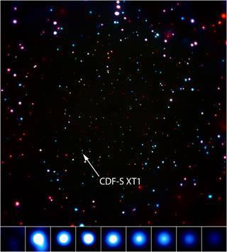 Still Image of CDF-S Transient.