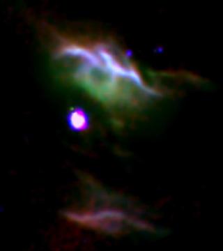 Stjernedannelsestågen NGC7023