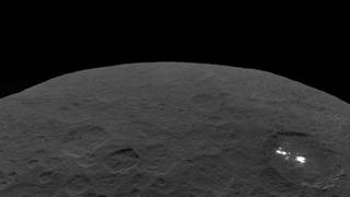 Ceres and the bright regions of Occator Crater