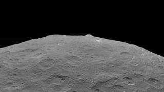 Ceres and one of its key landmarks, Ahuna Mons