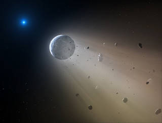 K2 finds white dwarf devouring mini planet