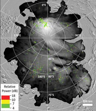 Las arcillas, no el agua, pueden ser la explicación del lago de Marte