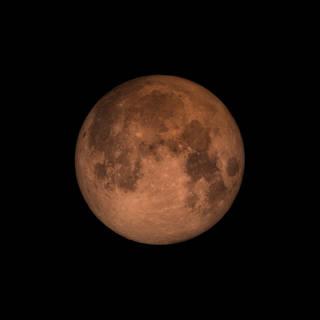 moon during lunar eclipse
