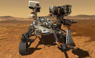 Настойчивость НАСА Mars Rover
