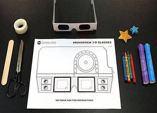 Материалы для изготовления 3D очков