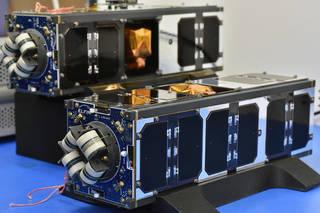 NASA-funded ELFIN To Study How Electrons Get Lost Elfin2xflightunits