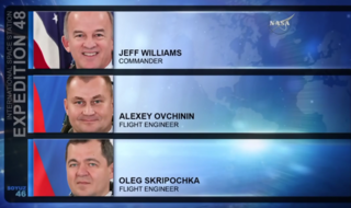 ISS Expedition 48 crew