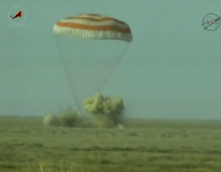 Expedition 50 Commander Shane Kimbrough of NASA and Flight Engineers Sergey Ryzhikov and Andrey Borisenko of Roscosmos return.
