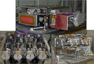 Instruments aboard NASA's Solar Dynamics Observatory.