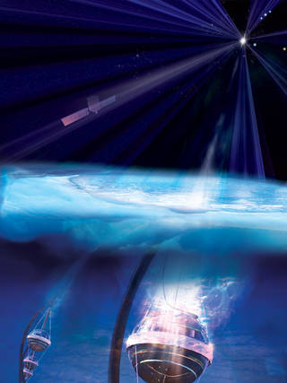 NASA's Fermi Traces Source of Cosmic Neutrino to Monster Black Hole Fermiicecube_as
