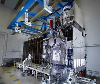 Geostationary Operational Environmental Satellite (GOES)-17 satellite