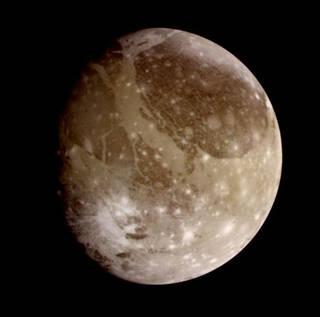 Galileo image of Ganymede