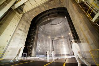 thermal vacuum chamber in the Space Environments Complex at NASAs Plum Brook Station