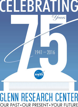 Glenn's 75th anniversary logo