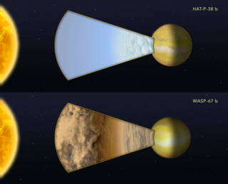 "Comparing the light of two ""hot Jupiter""-class planets"