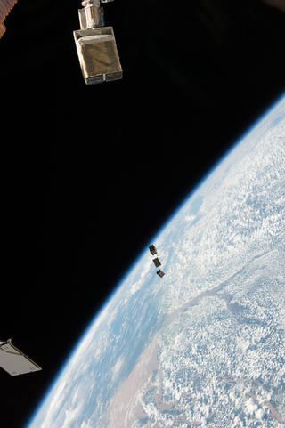 CubeSats STMSat-1, CADRE and MinXSS