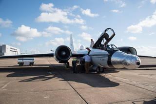 WB-57F jet
