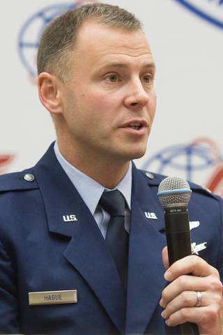 Expedition 57 crew member Nick Hague