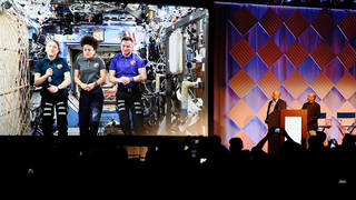 Station astronauts speak to SMPTE 2019 conference