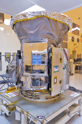 TESS arrives at KSC
