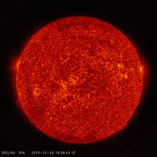SDO image of the sun in ultraviolet light