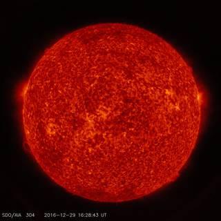 SDO image of the sun in ultraviolet light