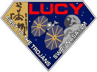 Logo for the Lucy mission