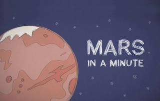 Марс за минуту