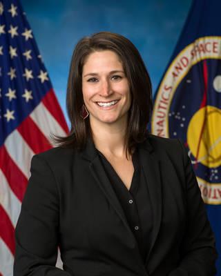 Chloe Mehring, part of NASA's flight director class of 2021