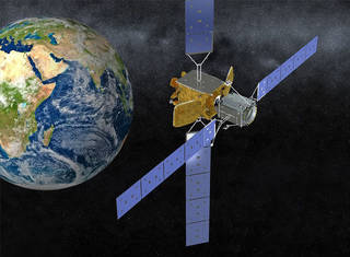 MEV in space above the Earth