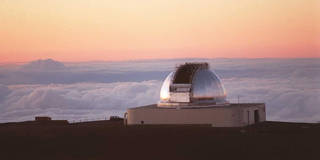 observatory above the clouds