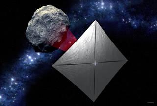 Při podzimní misi Artemis I se do vesmíru dostane také solární plachetnice, která prozkoumá blízkou planetku