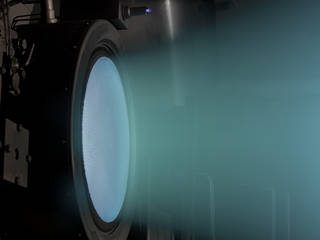 NASA's Evolutionary Xenon Thruster (NEXT) Project has developed a 7-kilowatt ion thruster.