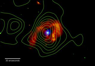 NASA's NuSTAR Mission Proves Superstar Eta Carinae Shoots Cosmic Rays Nustar_contours_eta_car