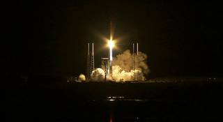 The Atlas V launch vehicle lifts off from Cape Canaveral. Credit: NASA