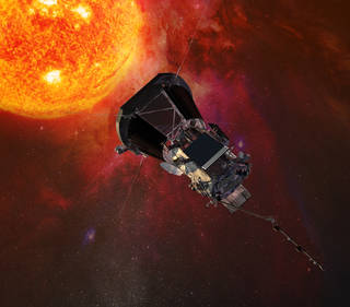 illustration of Parker Solar Probe