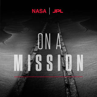 On a mission logo